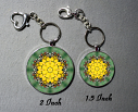Honey Bee Keychain Purse Bag Charms Mandala Jewelry Sacred Geometry Bee Gifts Custom Keychain b