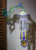 A Suncatcher Crystal Prisms Chandelier Style With A Sunflower Mandala Heirloom Unique Gift For Her