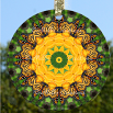 Glass SUN CATCHER Decor MONARCH BUTTERFLY Gift Home Ornament Garden Art Mandala Butterfly Decor
