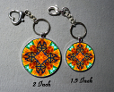 Keychain Monarch Butterfly Purse Charm Bag Charm Mandala Accessory Unique Gift Charismatic Essence