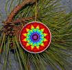 Rainbow Christmas Ornament Home Tree Ornament Decoration Chakra Gay Pride Delicate Dharma