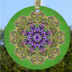 Glass SUN CATCHER Decor BUTTERFLY Gift Home Ornament Garden Art Mandala Butterfly Decor