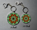 Keychain Monarch Butterfly Purse Charm Bag Charm Mandala Accessory Unique Gift Guardian Angel