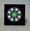Heart Chakra Music Box Keepsake Box Mandala Sacred Geometry Kaleidoscope Heart Chakra