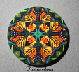 Coaster Drink Sandstone Custom Coasters Monarch Butterfly Nature Decor Transcendence