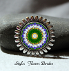 Brooch Lapel Pin Collar Pin Hat Pin Scarf Pin Daisy Mandala Sacred Geometry Unique Gift For Her My Love Blooms Eternal