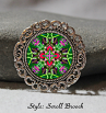 Brooch Lapel Pin Collar Pin Hat Pin Scarf Pin Hummingbird Mandala Sacred Geometry Unique Gift For Her Unforgettable Spirited Sprite