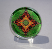 Glass Paperweight Monarch Butterfly Mandala Desk Decor Bosses Gift Teacher Gift Synchronized Souls