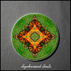 Coaster Drink Sandstone Custom Coasters Monarch Butterfly Nature Decor Synchronized Souls