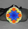 Forget Me Not Pendant Necklace Mandala Jewelry Yoga Jewelry Chakra Jewelry Tender Tribute