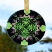 Bear Glass Suncatcher Mandala Sacred Geometry Kaleidoscope Bear Essentials