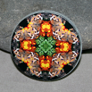 Butterfly Magnet Boho Chic Mandala New Age Sacred Geometry Kaleidoscope Winged Wonder