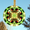 Honeybee Glass Suncatcher Sacred Geometry Mandala Kaleidoscope Beemidji