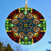 Monarch Butterfly Glass Suncatcher Home Decor Ornament Window Decor Mandala Meditation Zen Unique Gift For Her Yoga Gift 9