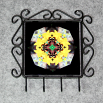 Honey Bee Utensil Rack Sacred Geometry Mandala Kaleidoscope Busy Bee