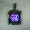 Hyacinth Trivet Cast Iron Ceramic Tile Mandala Sacred Geometry Kaleidoscope Frolicking Flora
