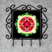 Butterfly Utensil Rack Sacred Geometry Mandala Kaleidoscope Warm Embrace