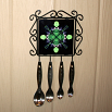 Bear Utensil Rack Sacred Geometry Mandala Kaleidoscope Bear Essentials