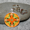 Frog Key Chain Sacred Geometry Mandala Fortunate Finnegan