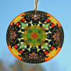 Honeybee Suncatcher Boho Chic Mandala Sacred Geometry New Age Kaleidoscope BEElieve