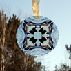 Loon Duck Glass Suncatcher Geometric Mandala Kaleidoscope Serene Serenade