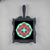 Butterfly Trivet Cast Iron Mandala Sacred Geometry Kaleidoscope Jeweled Jubilee