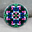 Butterfly Magnet Mandala Sacred Geometry Kaleidoscope Whimsical Persuasion