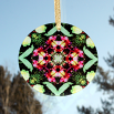 Lily Peruvian Glass Suncatcher Geometric Mandala Kaleidoscope Untitled