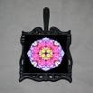 Rose Trivet Cast Iron Boho Chic Mandala New Age Sacred Geometry Hippie Kaleidoscope A Fanciful Fondness