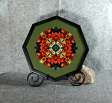Lily and Daisy Fine Art Photograph Sacred Geometry Mandala Kaleidoscope Summer Sizzle