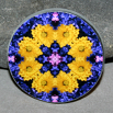 Daisy Decorative Magnet Boho Mandala New Age Sacred Geometry Kaleidoscope You Are My Sunshine