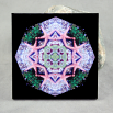 Starfish Decorative Ceramic Tile Mandala Sacred Geometry Kaleidoscope Sea Side Star