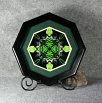 Bear Fine Art Photograph Sacred Geometry Mandala Kaleidoscope Bear Essentials