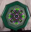 Orchid Fine Art Photography Sacred Geometry Kaleidoscope Magenta Madness
