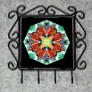 Butterfly Utensil Rack Sacred Geometry Mandala Kaleidoscope Timeless Treasure