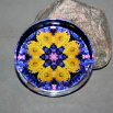 Daisy Paperweight Boho Chic Mandala New Age Sacred Geometry Kaleidoscope You Are My Sunshine