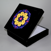 Daisy Music Box Keepsake Box Boho Chic Mandala New Age Sacred Geometry Hippie Kaleidoscope You Are My Sunshine