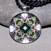 Starfish Nautical Pendant Sacred Geometry Mandala Kaleidoscope Necklace Naturally Nokomis