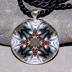 Wood Duck Pendant Mandala Sacred Geometry Kaleidoscope Wood Duck Wonder
