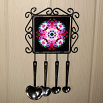 Rose Utensil Rack Sacred Geometry Mandala Kaleidoscope Petals of Poise