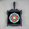 Butterfly Trivet Cast Iron Mandala Sacred Geometry Kaleidoscope Timeless Treasure