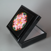 Lily Music Box Keepsake Box Boho Chic Mandala New Age Sacred Geometry Hippie Kaleidoscope Tickled Pink