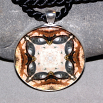 Turtle Pendant Mandala Sacred Geometry Kaleidoscope Necklace Utopia