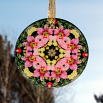 Lily Flower Glass Suncatcher Mandala Kaleidoscope Geometric Bella