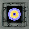 Water Lily Trivet Black Iron Mandala Sacred Geometry Kaleidoscope Eye of the Beholder