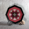 Rose Fine Art Photograph Sacred Geometry Kaleidoscope Framed Frostbitten