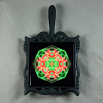 Lily Trivet Cast Iron Mandala Sacred Geometry Kaleidoscope Blooming Inspiration