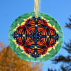 Monarch Butterfly Glass Suncatcher Home Decor Ornament Window Decor Mandala Meditation Zen Unique Gift For Her Yoga Gift 10