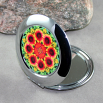Blanket Flower Compact Mirror Pocket Mirror Mandala Sacred Geometry A Ray of Hope