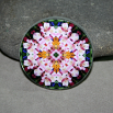 Lily Magnet Boho Chic Mandala New Age Sacred Geometry Kaleidoscope Tickled Pink